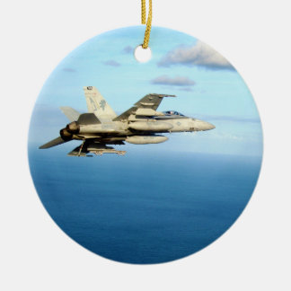 F/A-18A Hornet Strike Fighter Squadron 87 Christmas Ornaments