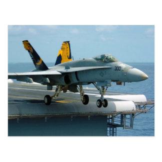 F A-18C Hornet Golden Dragons Strike Fighter Post Cards