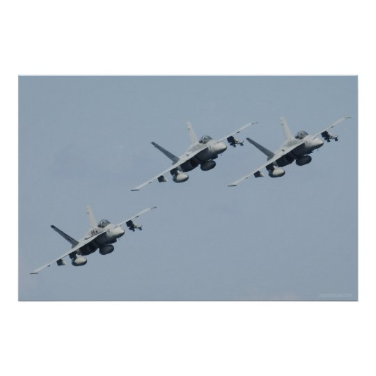 F/A-18C Hornets Poster