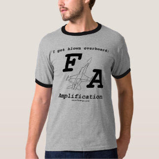 """F/A Amplification """"Blown Overboard"""" T-shirt"""