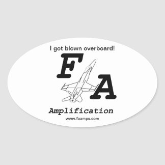 F/A Amplification Sticker