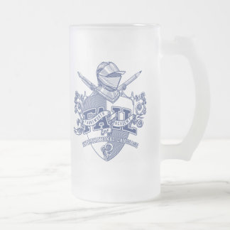 F.A.I.L. Commemorative Limited Edition Tankard Frosted Glass Beer Mug