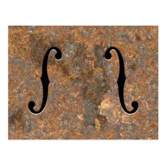 F-Agujeros oxidados Postales