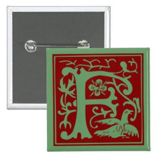 F - Alfabeto ornamental Pins