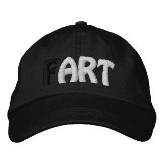 (F) ARTE - casquillo de los chicas del gorra negro Gorras Bordadas