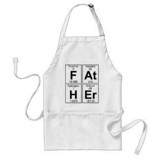 F-At-H-Er (father) - Full Adult Apron