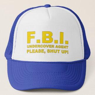 F.B.I. Agent Trucker Hat