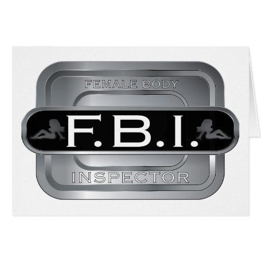F B I Female Inspector Cards