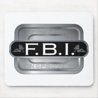 F B I Female Inspector Mouse Pad