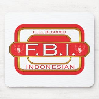 F B I Indonesian Mouse Mat