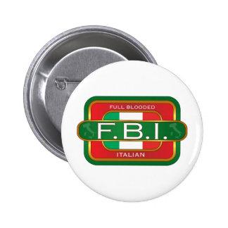 F B Italian Pinback Buttons