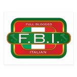 F B Italian Postcards