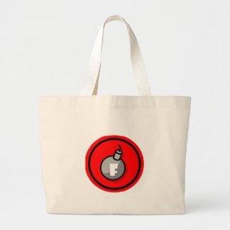 F-Bomb Jumbo Tote Bag