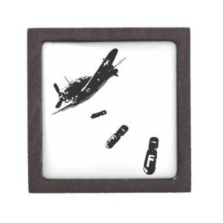 F-Bomb Diver (Black) Jewelry Box