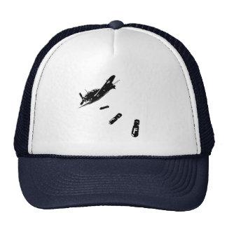 F-Bomb Diver (Black) Trucker Hat