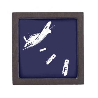 F-Bomb Diver (White) Jewelry Box