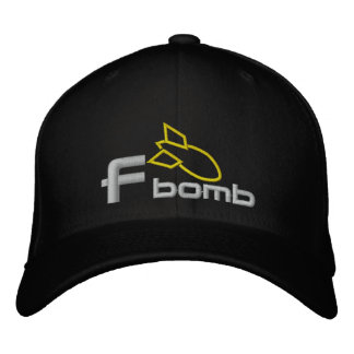 F Bomb Embroidered Hat