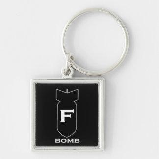 F Bomb Key Chain
