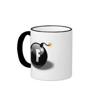 F-bomb Ringer Coffee Mug