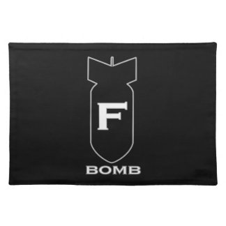 F Bomb Placemat