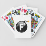 F Bomb Playing Cards