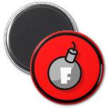 F-Bomb Refrigerator Magnet
