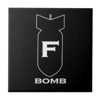 F Bomb Tile