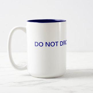 F Bomb Two-Tone Coffee Mug