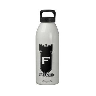 F Bomb Water Bottles