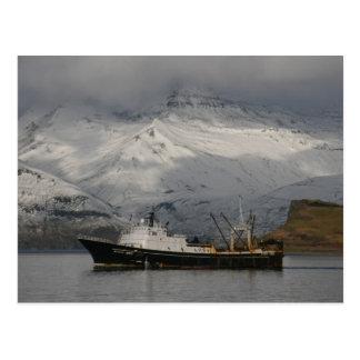 F. C. A. Alaska Juris, Trawler in Dutch Harbor, Al Postcard