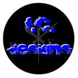 F.C. Design Clock