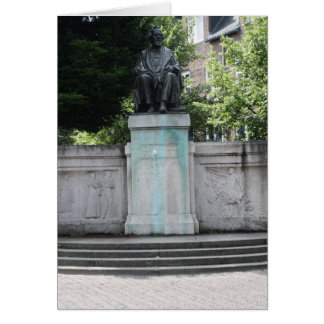 F.C. Donders monument Greeting Card