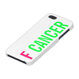 F CANCER iPhone SE/5/5s CASE
