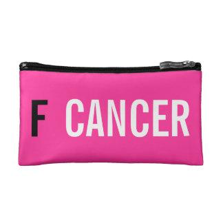 F CANCER MAKEUP BAG