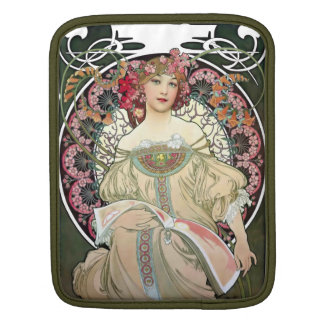 F. Champenois Imprimeur-Éditeur by Alfons Mucha Sleeve For iPads