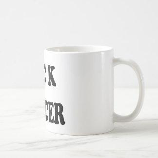 F ck Cancer bold Coffee Mugs