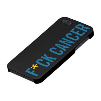 F*CK CANCER COVER FOR iPhone SE/5/5s