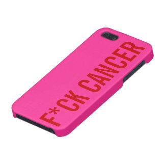 F*CK CANCER COVER FOR iPhone 5/5S