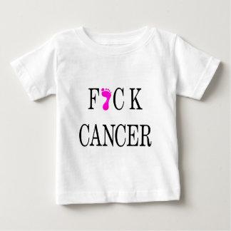 f*ck cancer soft text baby T-Shirt