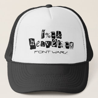 F%ck Helvetica Hat