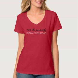 F*ck the Patriarchy - Read Romance V-Neck T-Shirt