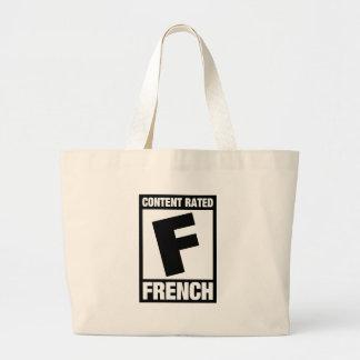 F clasificada: Francés Bolsas