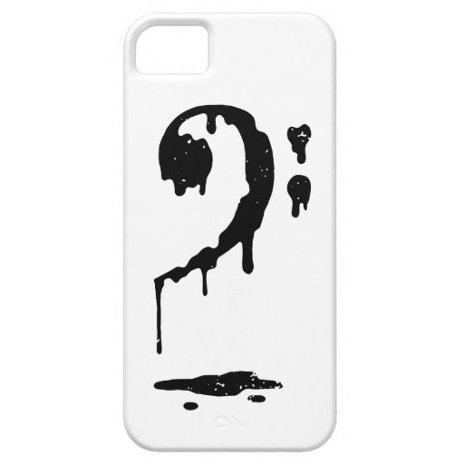 F clef iPhone 5 cases