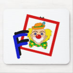 F Clown Mousepads
