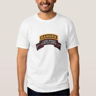 F Co 51st Infantry LRS Scroll, Ranger Tab T Shirt