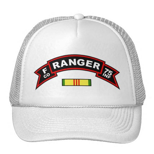 F Co, 75th Infantry Regiment - Rangers Vietnam Trucker Hat