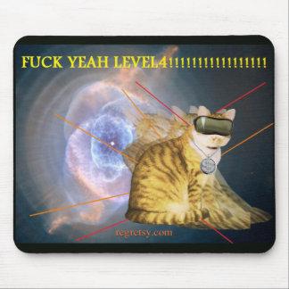 F--de k nivel 4 Mousepad sí Alfombrillas De Raton