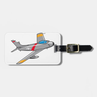 F Eighty Six Sabre Jet Bag Tag