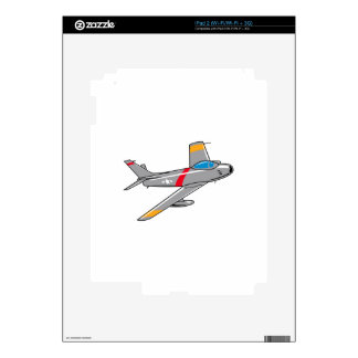 F Eighty Six Sabre Jet Decal For The iPad 2