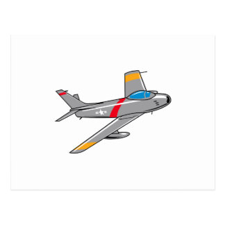 F Eighty Six Sabre Jet Postcard